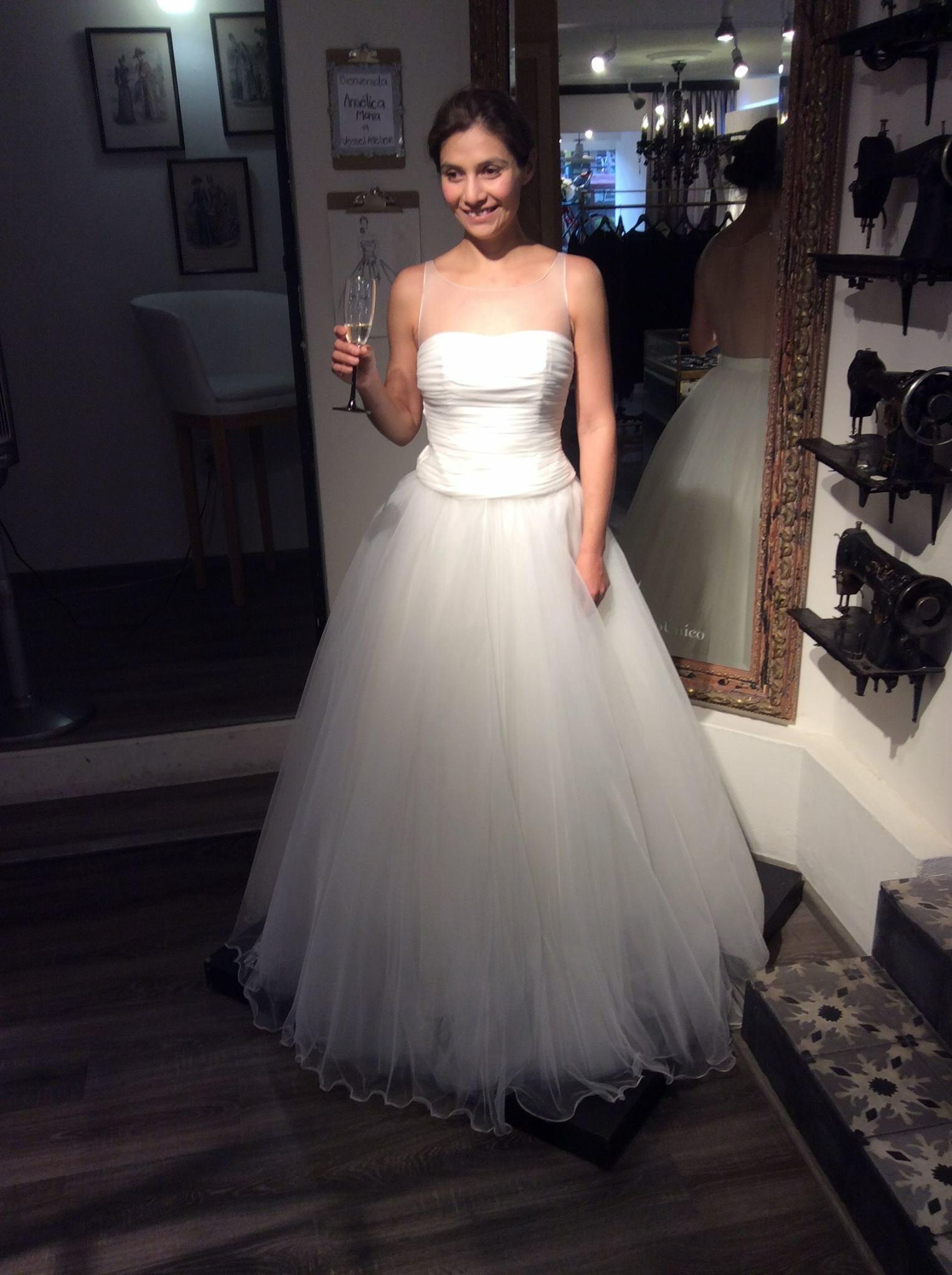 Vestidos novia df